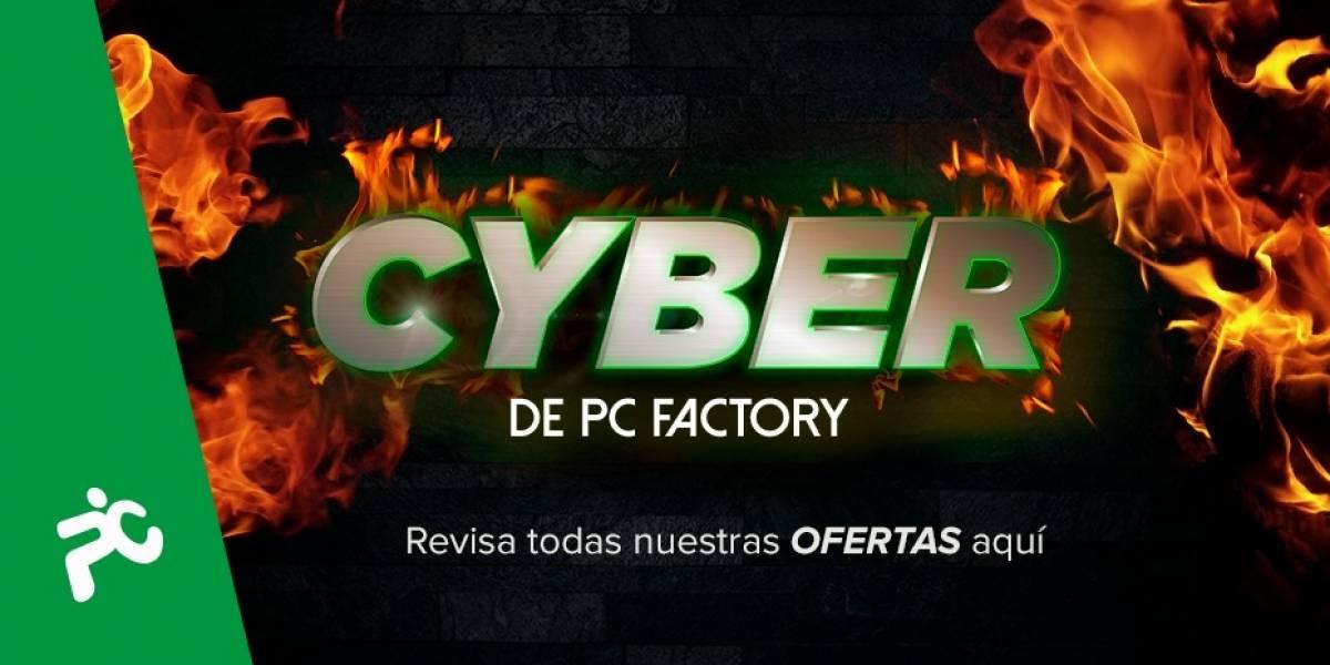 ¡Se adelantaron! PC Factory empieza antes el Cyber