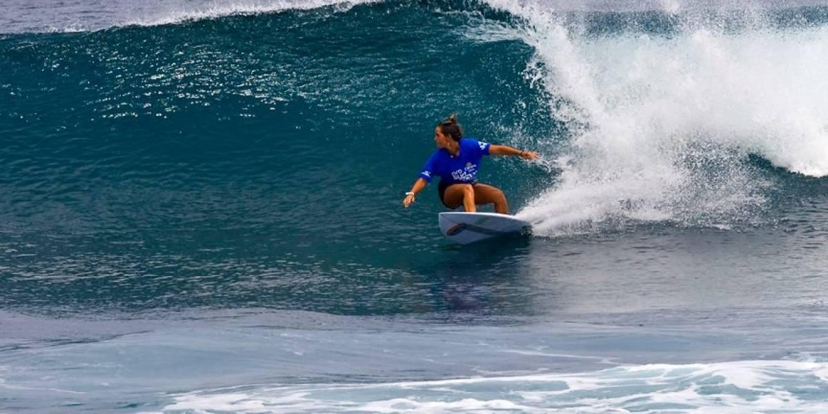 A escena el Corona Pro Surf en playa Middles