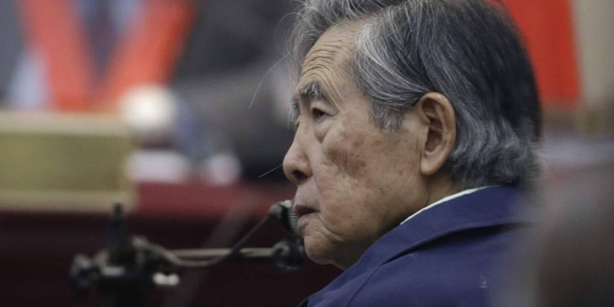 Juez peruano anula el indulto al ex dictador Alberto Fujimori y ordena su captura