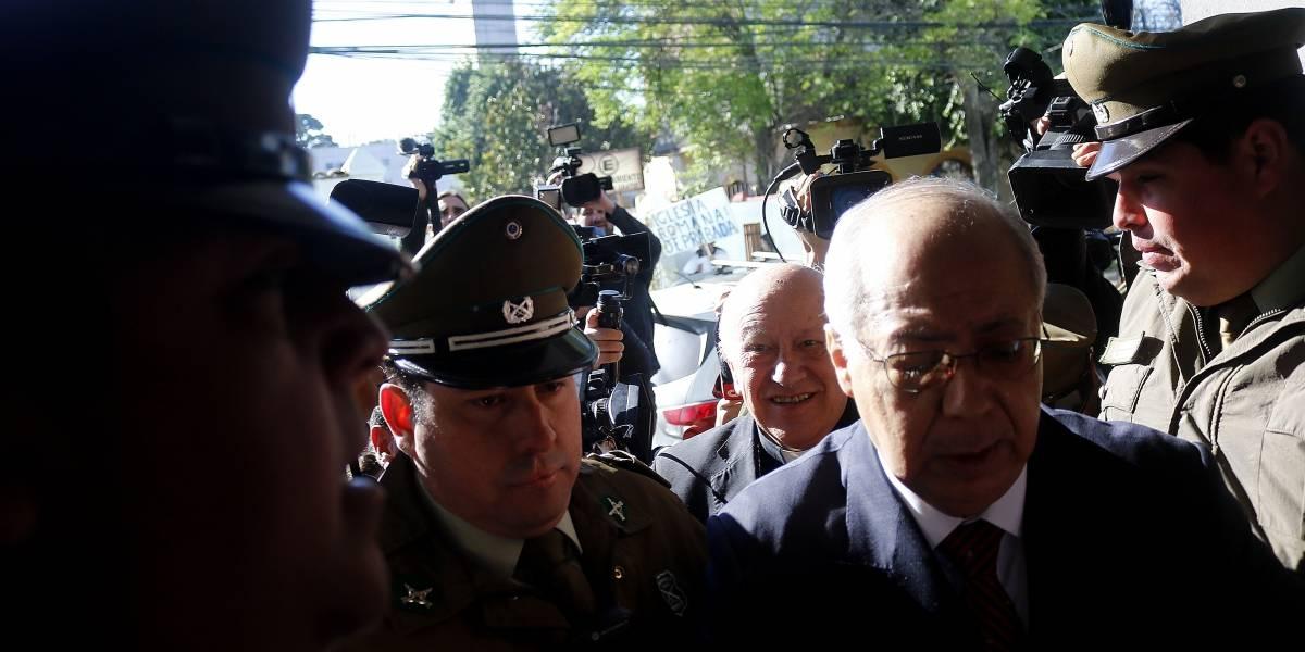 Ezzati no habló ante el fiscal Arias pese a que aseguró que cooperaría