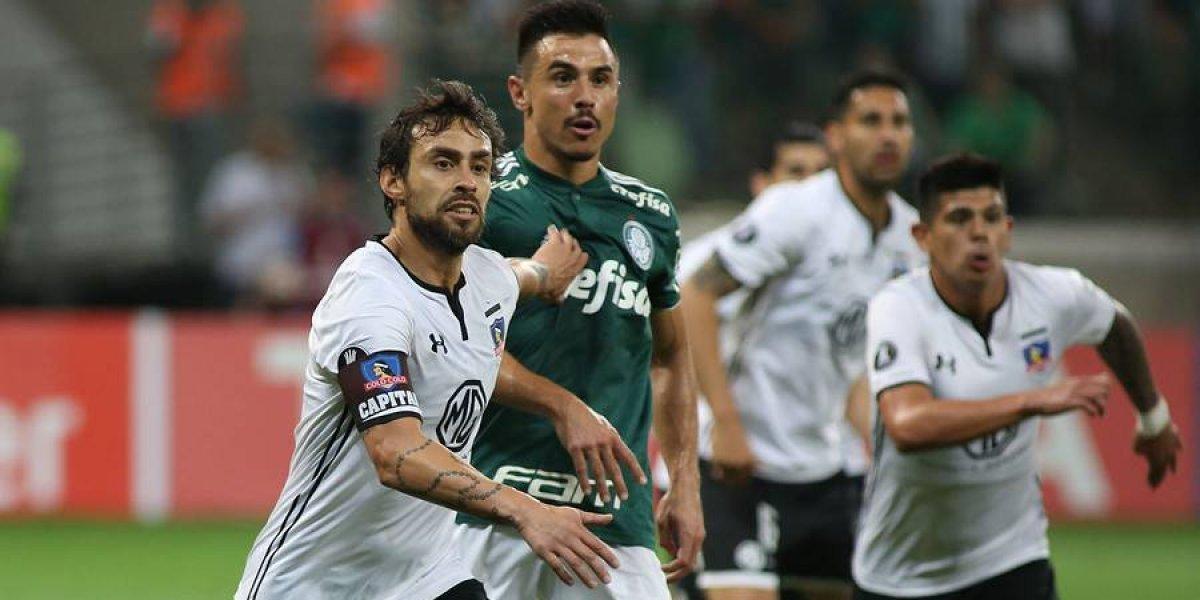 Así vivimos el adiós de Colo Colo a la Libertadores ante Palmeiras