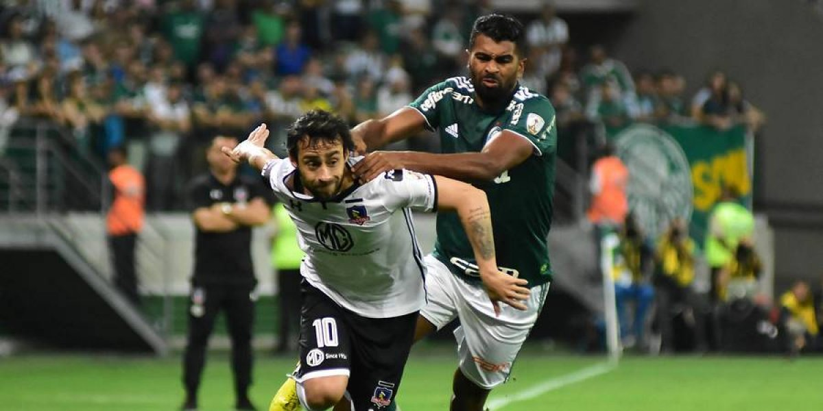 Un mezquino Colo Colo cayó ante Palmeiras y se despidió de la Copa Libertadores sin pelear
