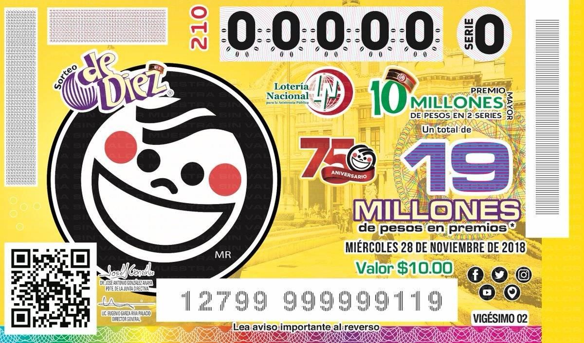 Se repartirán 12 millones de pesos en premios Cortesía.