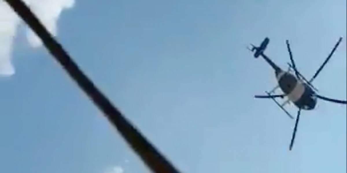Manabí: Policía Nacional realiza reparaciones en viviendas afectadas por helicóptero de la institución