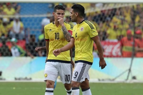 Rivales de la Selección Colombia en los amistosos de noviembre