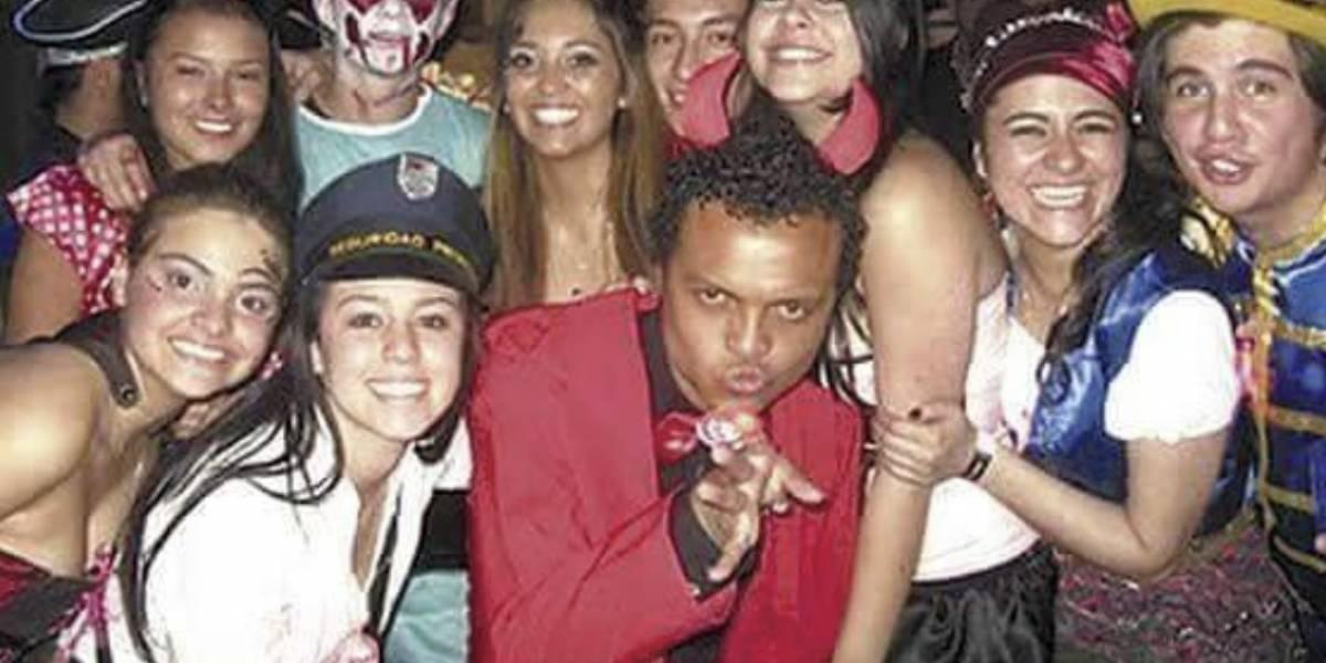 Fotografía de Luis Andrés Colmenares está siendo usada para convocar fiesta de Halloween en Facebook