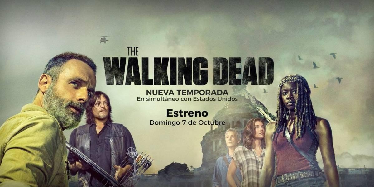 'The Walking Dead' estrenará su novena temporada con una gran sorpresa