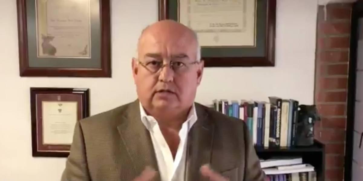 Mauricio Pozo es precandidato a la Alcaldía de Quito y esta es parte de propuesta