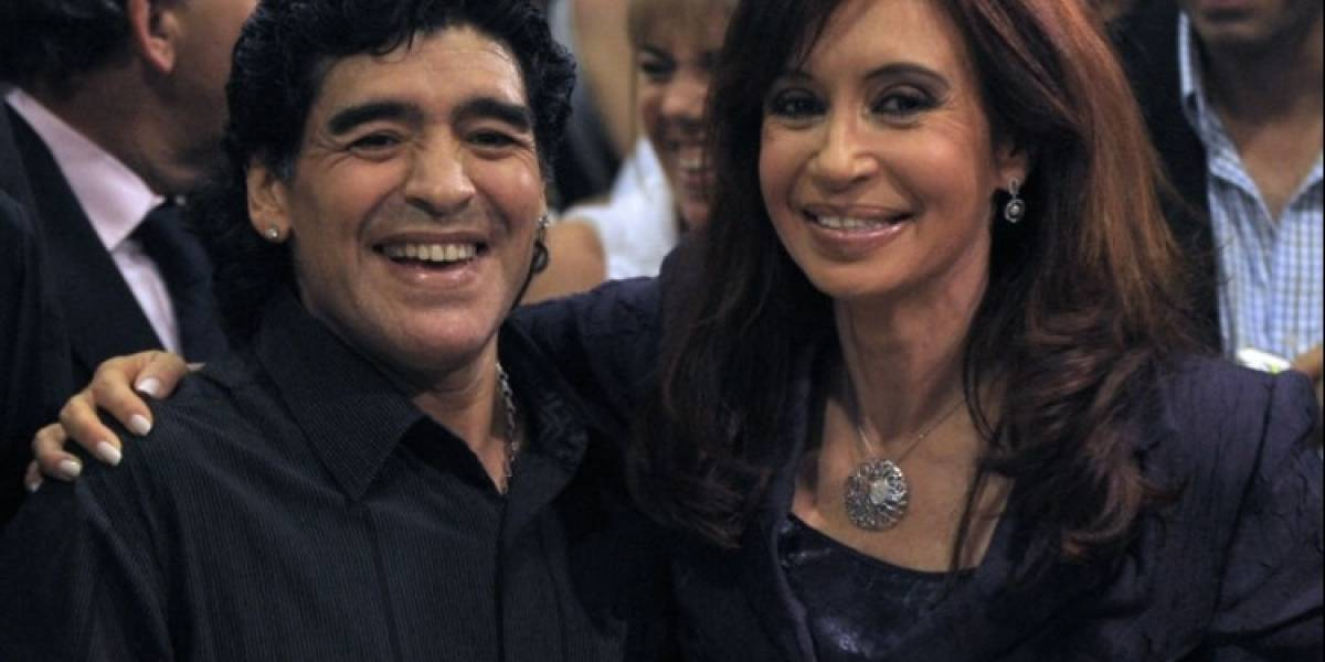 Cuauhtémoc Blanco se reunió con Diego Armando Maradona