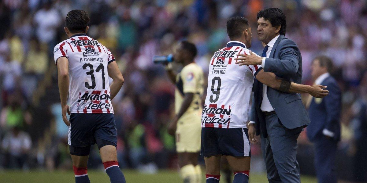 VIDEO: Cardozo niega que Chivas festejó el empate ante América