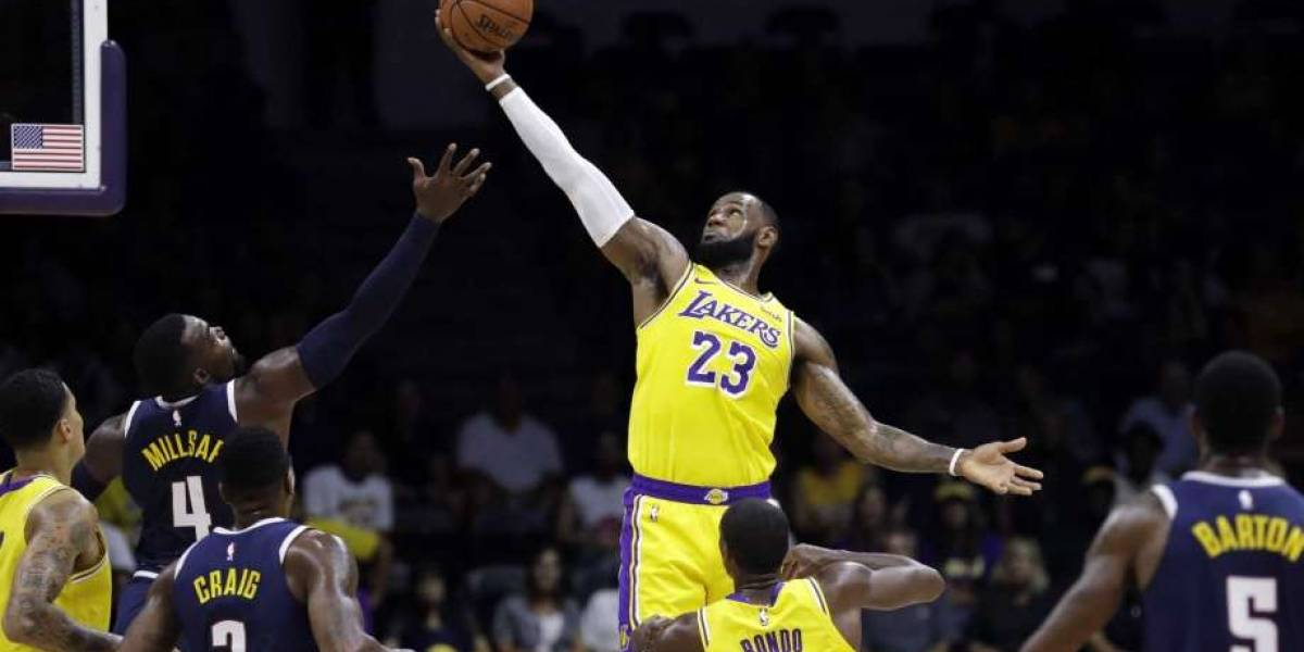 LeBron James y Warriors siguen dictando en NBA