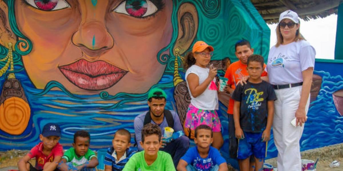 Centro Cultural Perelló realizó festival de pintura en Salinas