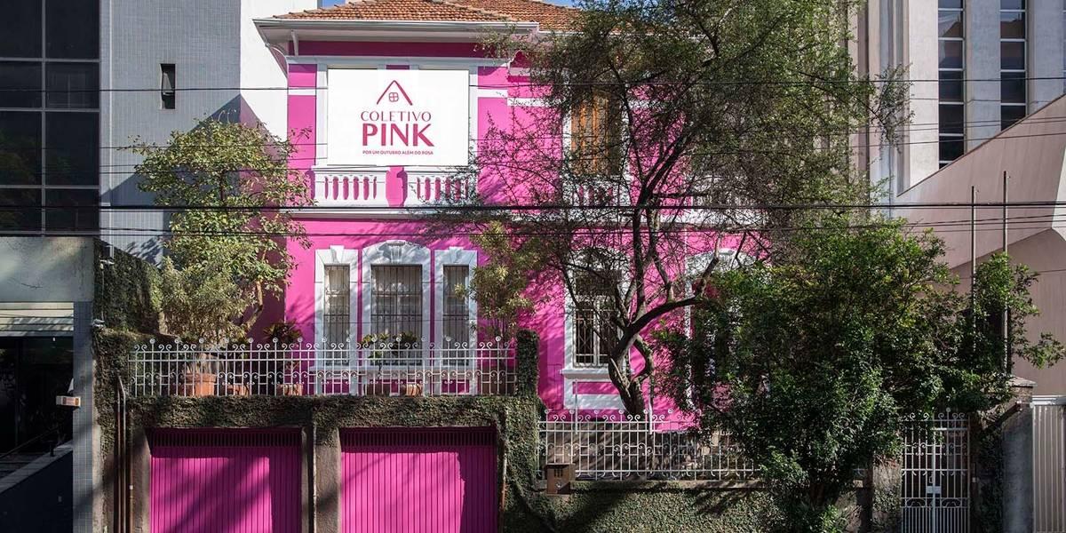 Coletivo alerta para a prevenção do câncer de mama em São Paulo