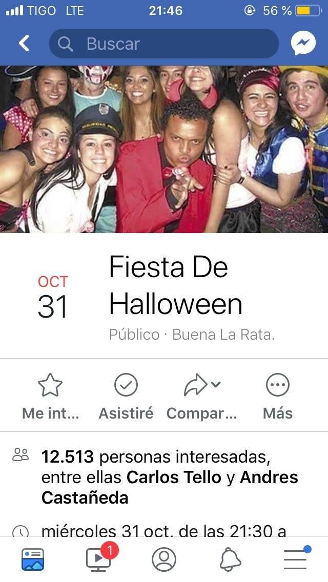 Colmenares Facebook