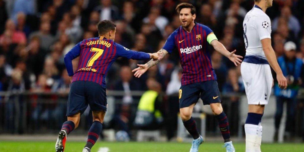 Así vivimos el triunfo del Barcelona de Vidal sobre Tottenham en la Champions League