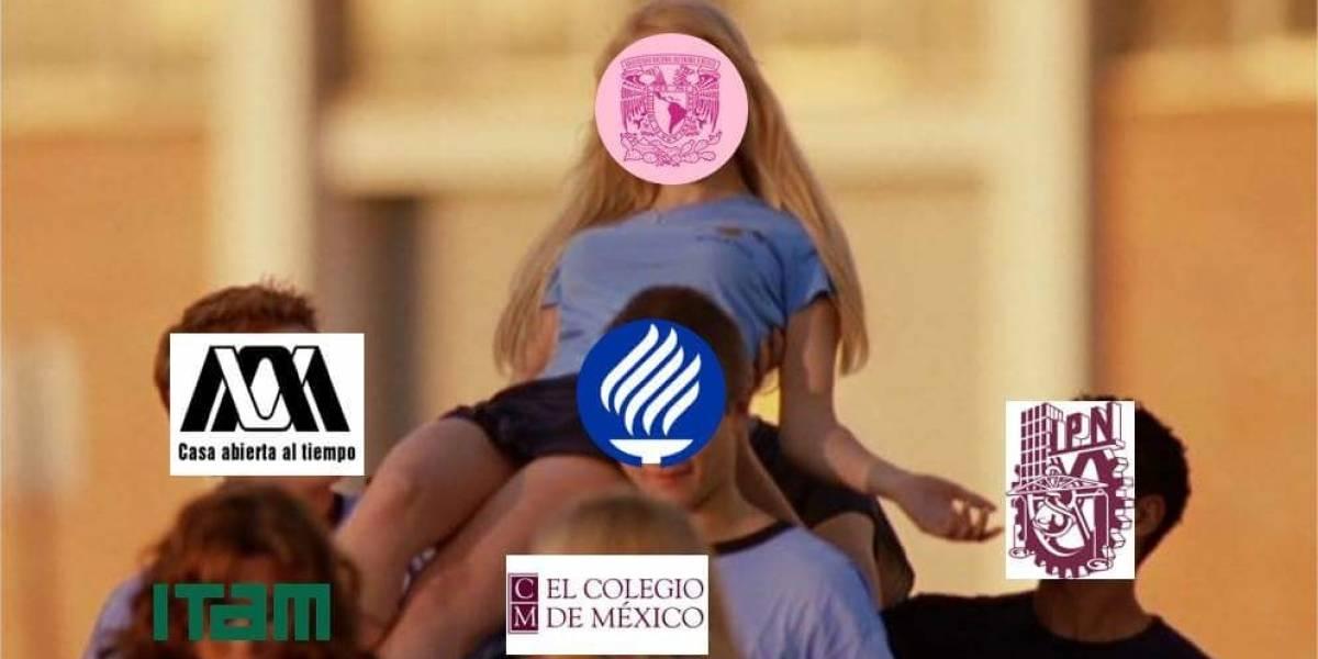 Escudo rosa de la UNAM divide a las redes sociales