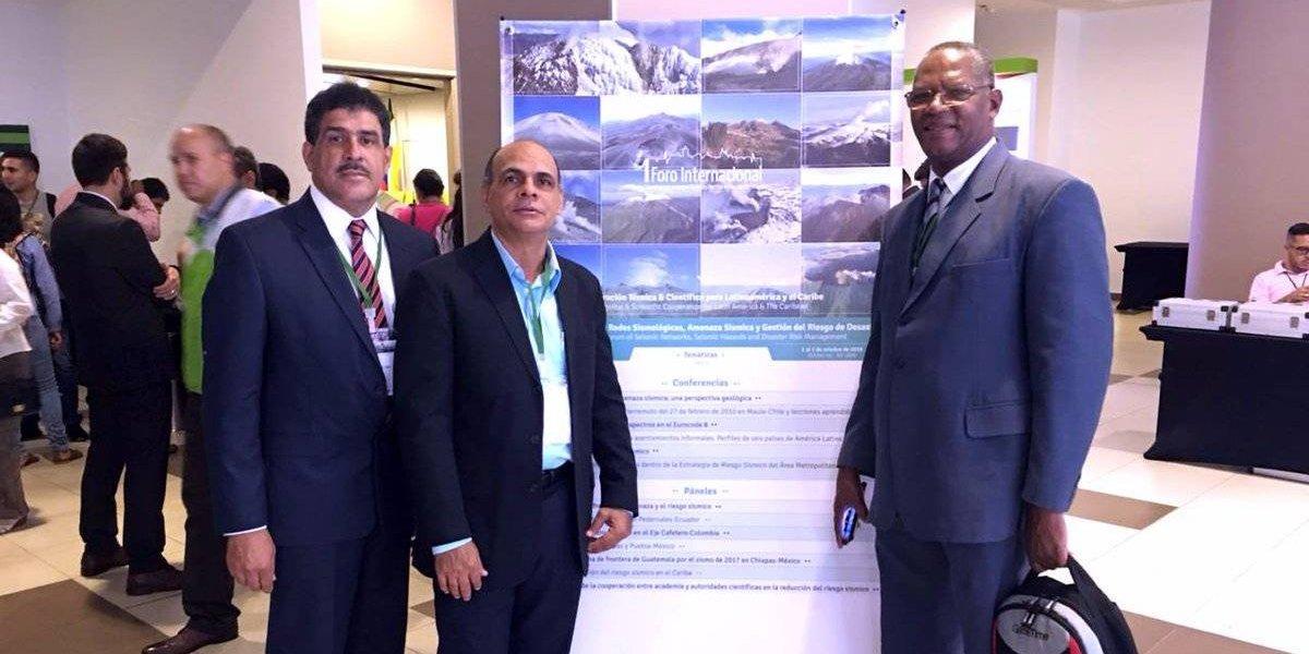 RD y otros 24 países participan en el 1er Foro de amenaza sísmica que se celebra en Colombia