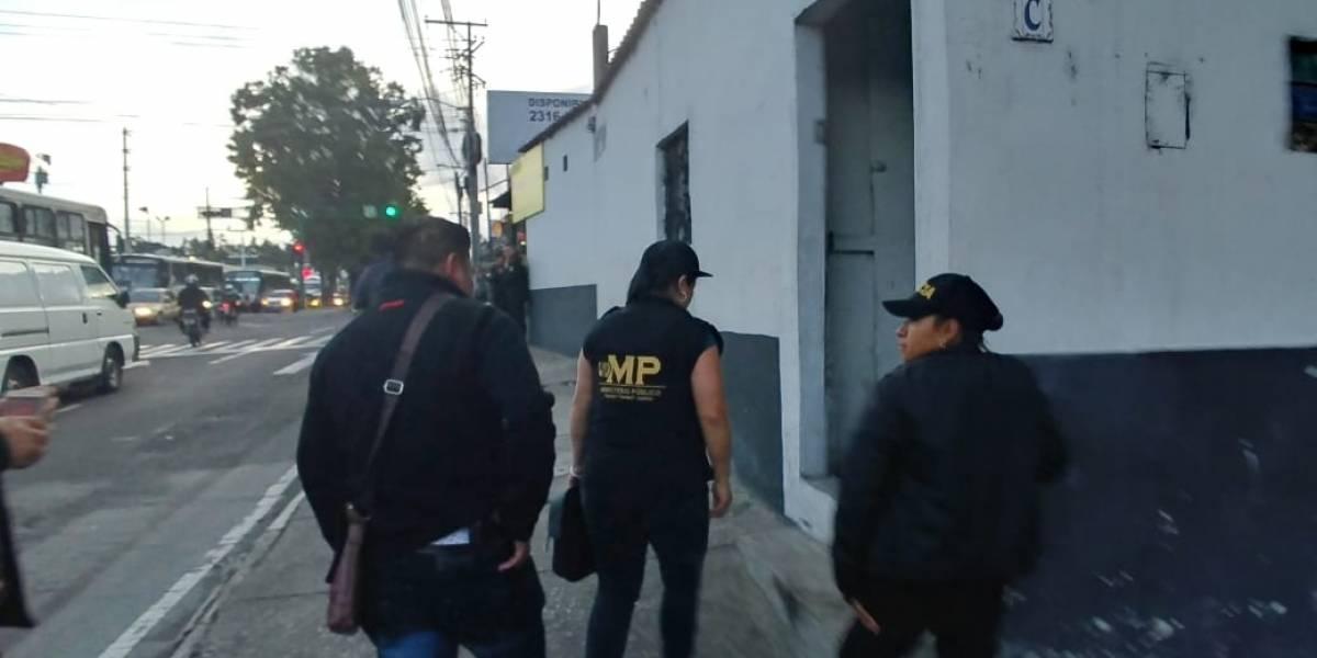 MP y PNC llevan a cabo 87 allanamientos en 4 departamentos del país en contra de las extorsiones