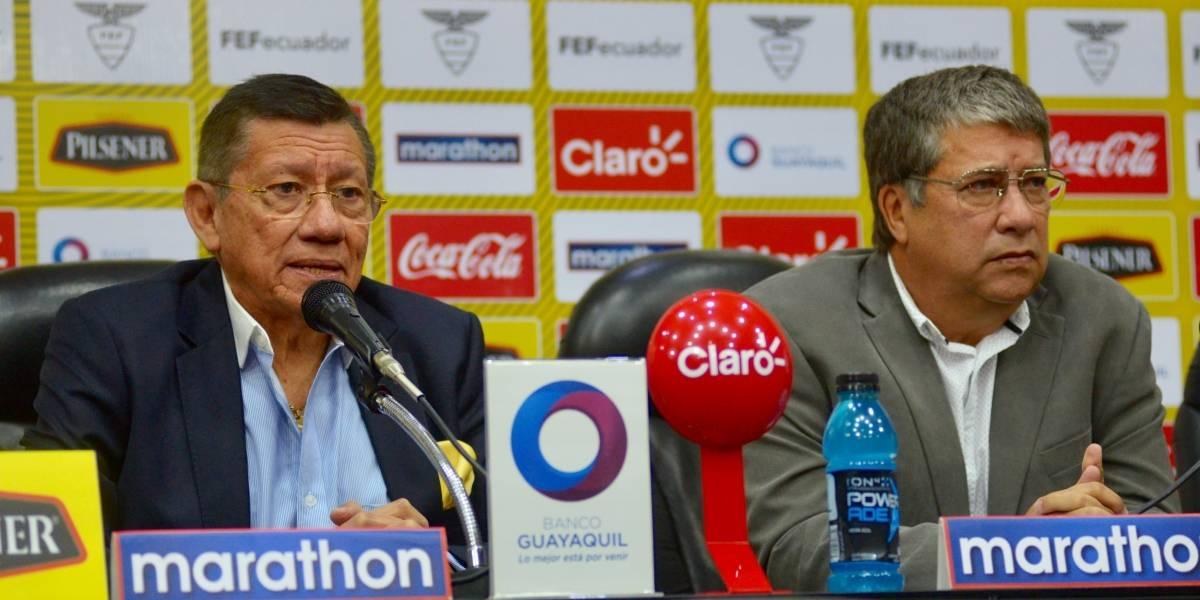 FEF confirmó amistoso con Perú en noviembre