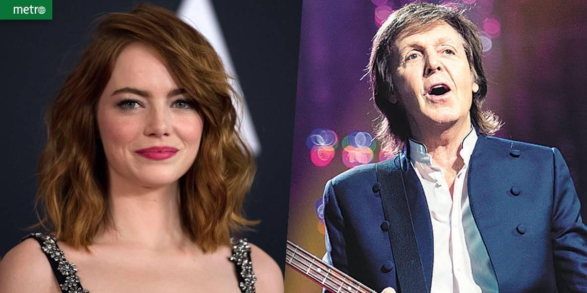 Emma Stone vai participar de novo clipe de Paul McCartney