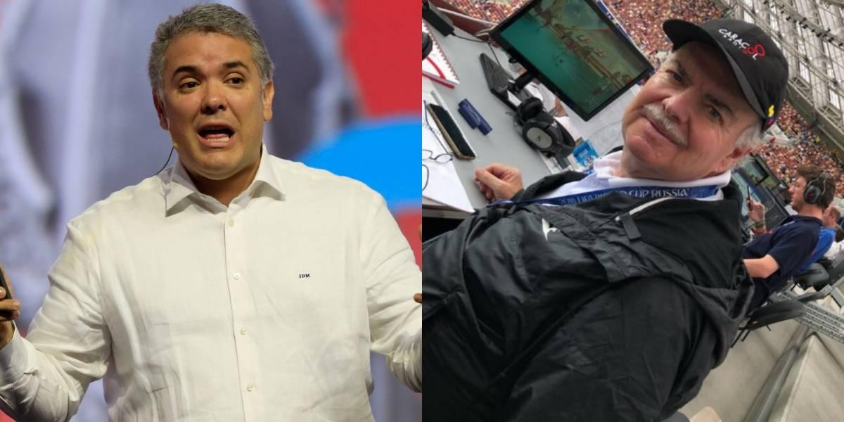 Iván Mejía arremetió contra Iván Duque tras incidentes entre hinchas de Millonarios y Santa Fe