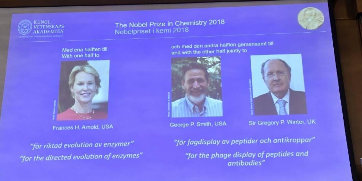 El Nobel de Química premia lacreación de nuevas proteínasa través deprincipios de la evolución