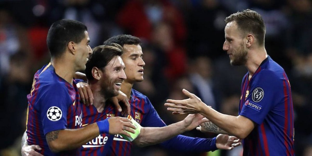 Barcelona vuelve a sonreír en la Champions League
