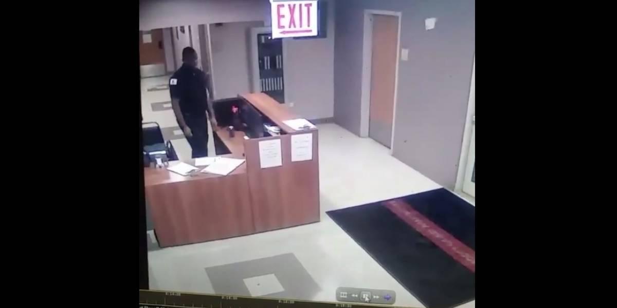 Video: guardia de seguridad vive experiencia paranormal en escuela de EE. UU.