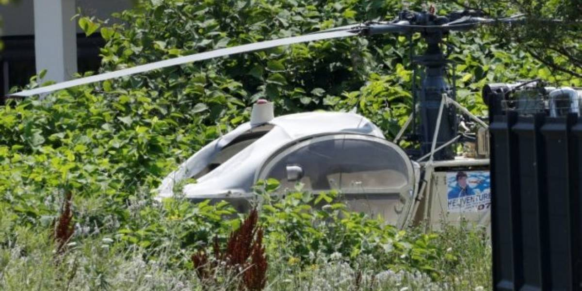 Capturan al reo francés que huyó de un penal en helicóptero