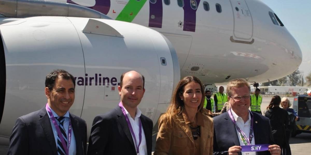Más grandes y eficientes: SKY anuncia la renovación de su flota por aviones con motor de última generación