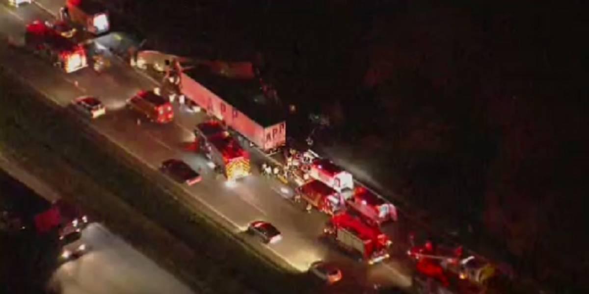 Sobe para quatro as mortes em acidente com ônibus e carreta na rodovia Castello Branco