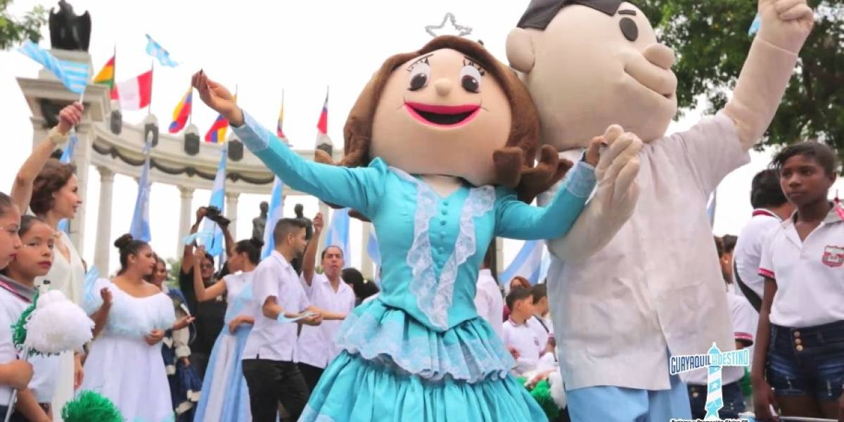 Guayaquil celebra 198 años de independencia con obras