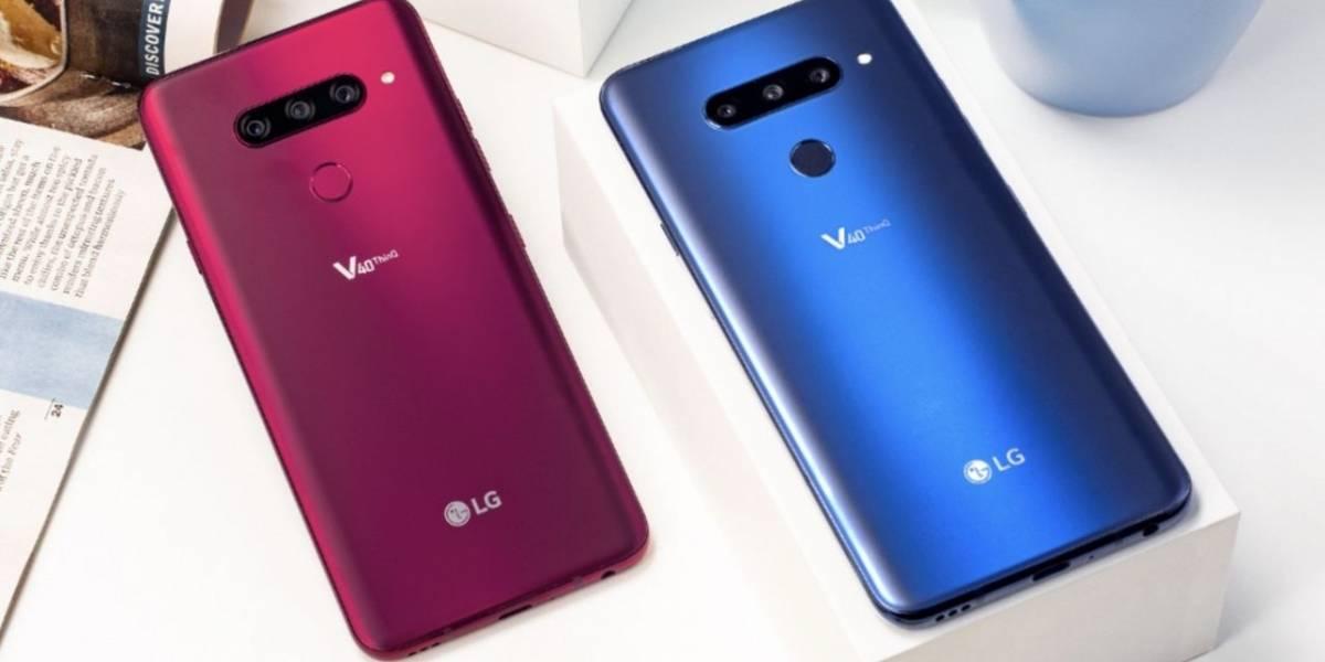 Se anuncia el LG V40 ThinQ con cinco cámaras y pantalla OLED de 6.4 pulgadas