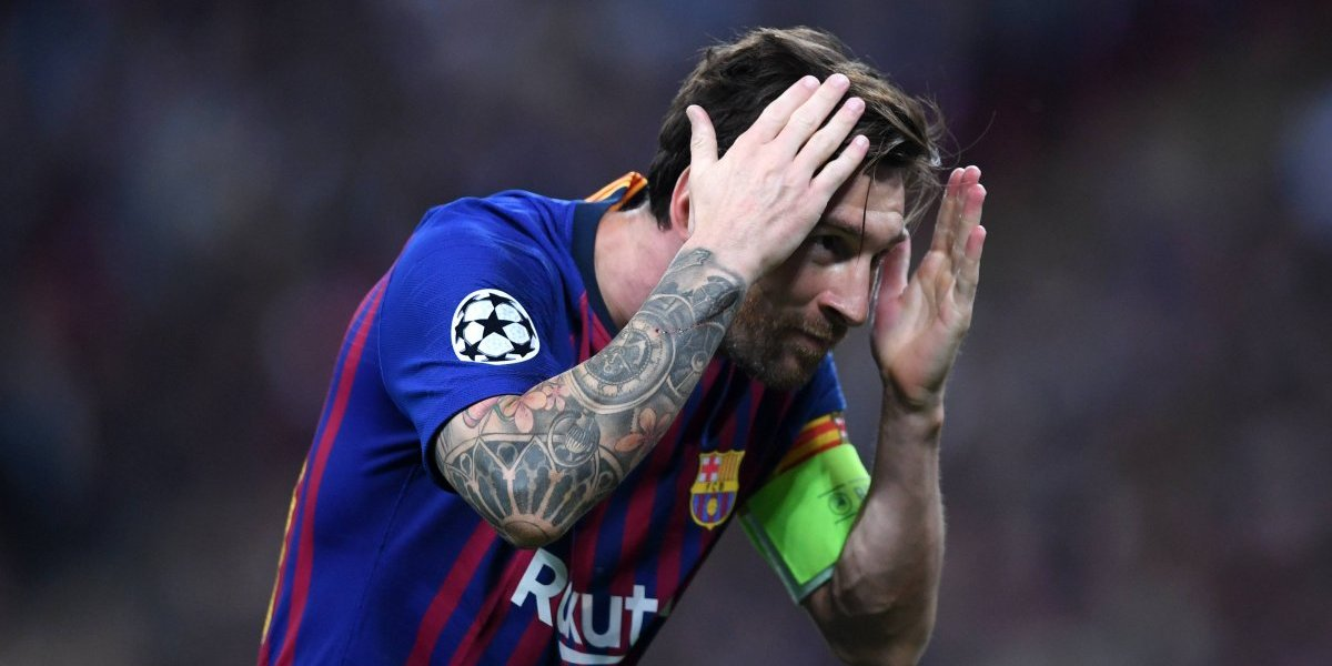 VIDEO: Así fue el peculiar festejo de Messi tras anotar en Champions League