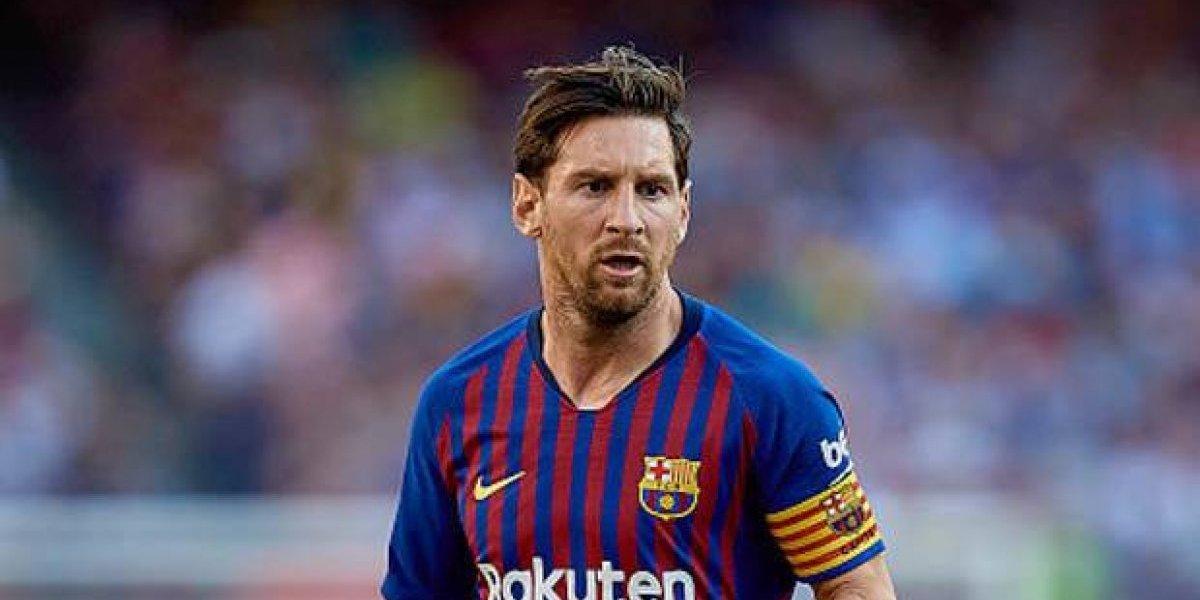 Doblete de Messi lleva al Barça a la victoria
