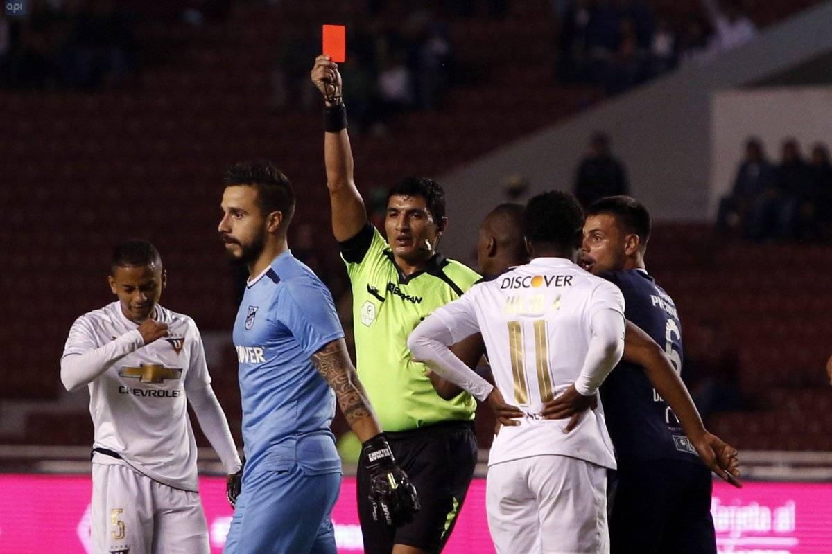 Liga de Quito vs. Universidad Católica: Los albos ganan 1-0 a los camaratas API