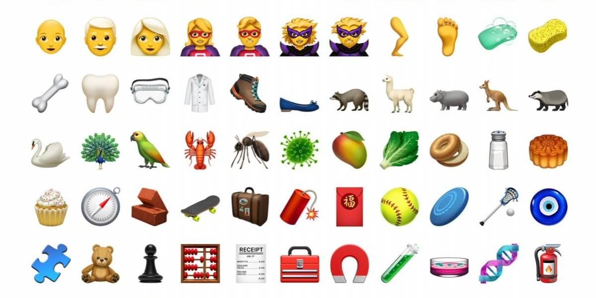 Conoce los nuevos emojis disponibles con iOS 12.1