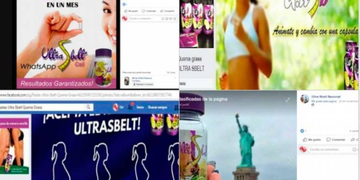 Facebook eliminó 152 perfiles por vender productos  engañosos