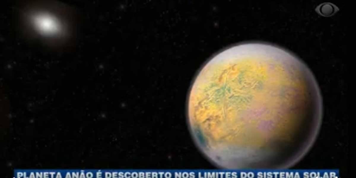 Planeta anão é descoberto nos limites do Sistema Solar