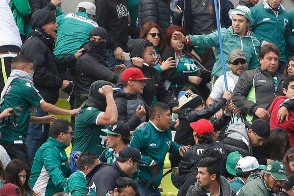 La polémica pelea en Playa Ancha / imagen: Photosport