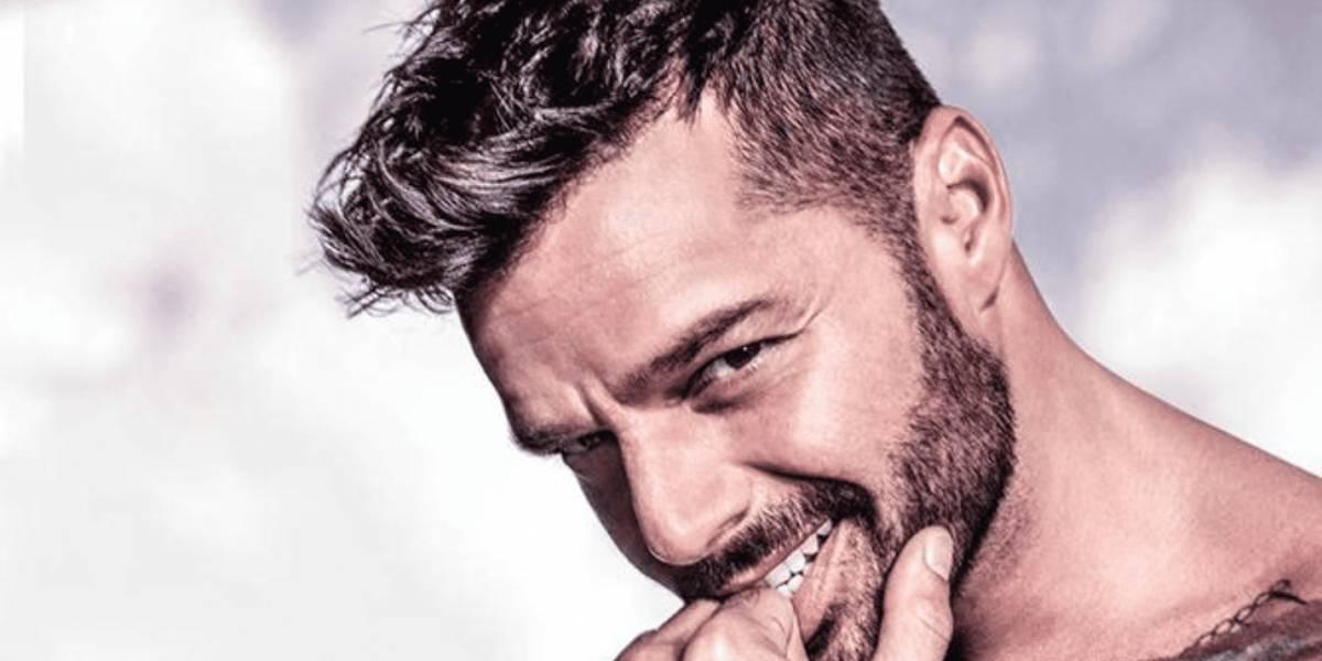 Ricky Martin le lanza propuesta a su esposo en público