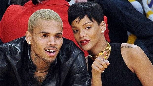 Chris Brown y Rihanna