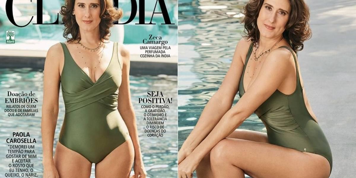 Paola Carosella, do MasterChef, estampa capa da revista Claudia e fala sobre autoestima