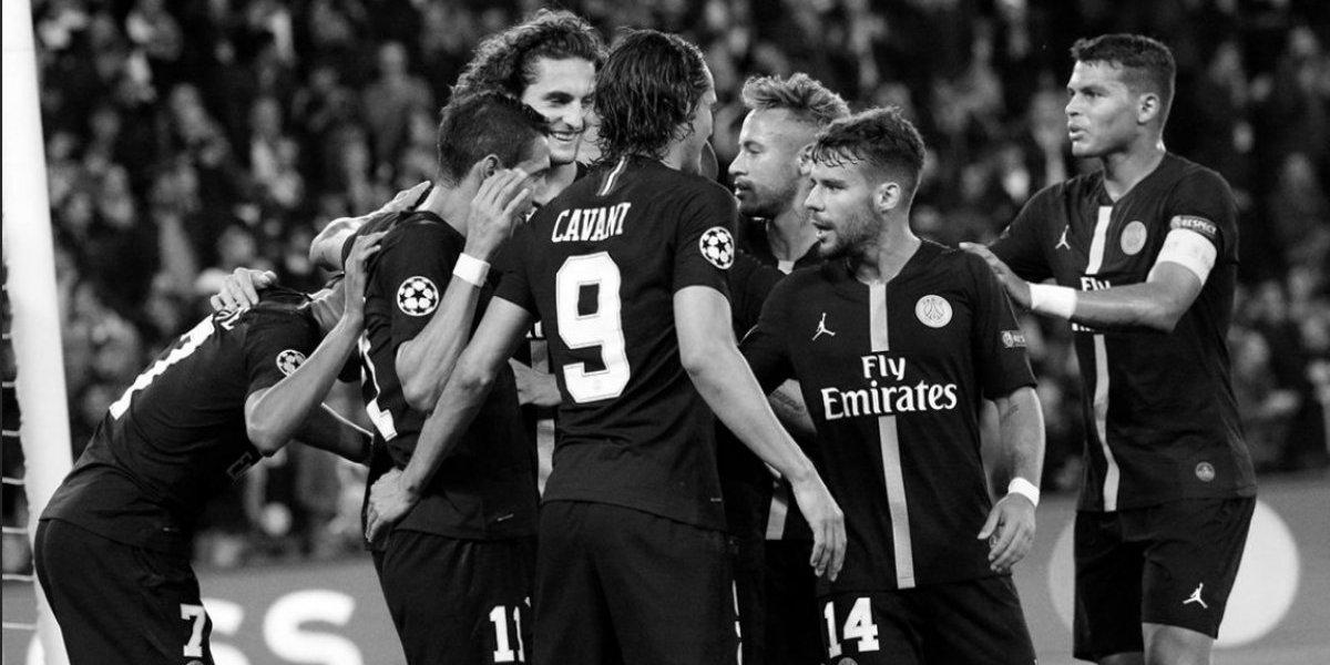 Con hat-trick de Neymar, el PSG goleó al Estrella Roja