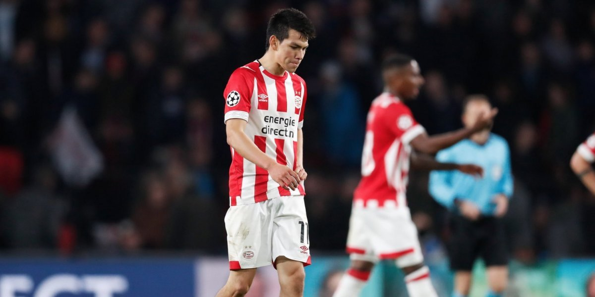 Con 'Chucky' de titular, el PSV sufre segunda derrota en Champions