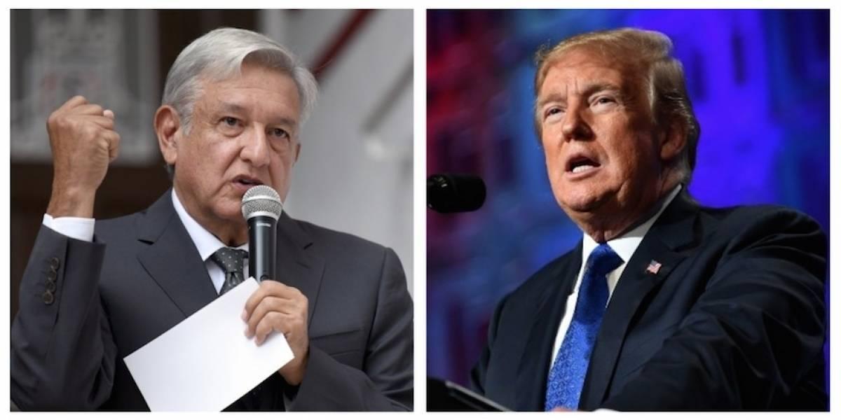 Trump y López Obrador conversan sobre migración de Centroamérica