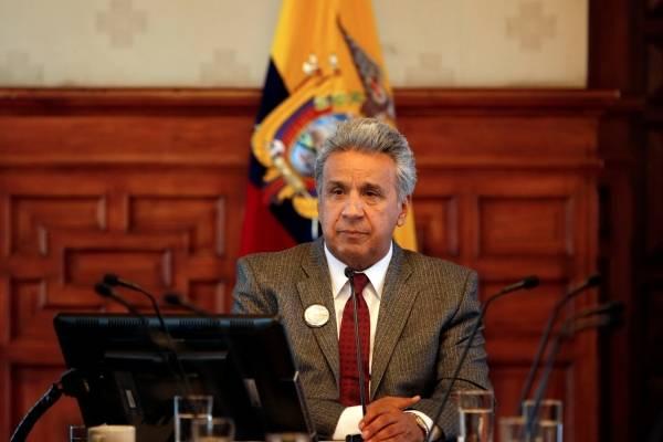 """Lenín Moreno deseó """"mejores augurios"""" a Bolsonaro"""