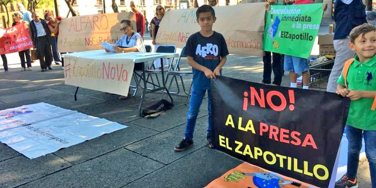 """""""La presa El Zapotillo no va"""", sentencian habitantes"""