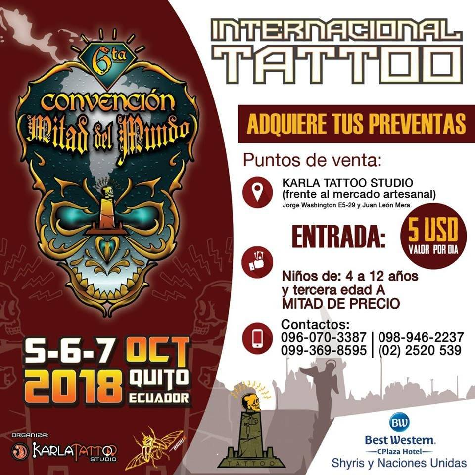 Convencion de tatto Mital del Mundo