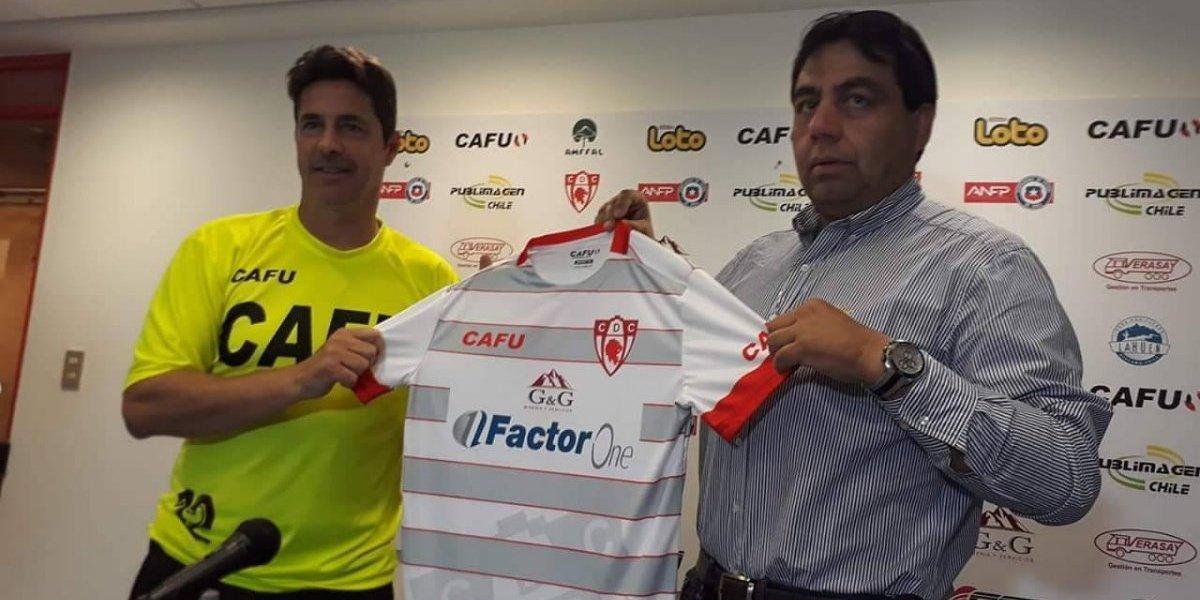 Héctor Almandoz asume como nuevo técnico de Copiapó con la misión de salvarse del descenso